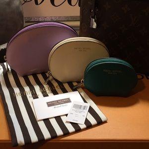 Henri Bendel Trio Cosmetic Bags